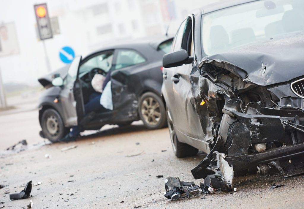 Ridesharing car accident