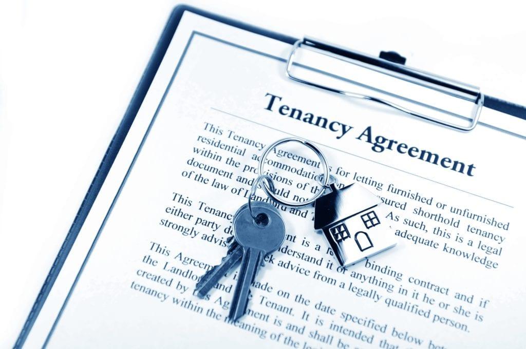 tenancy agreement/lease
